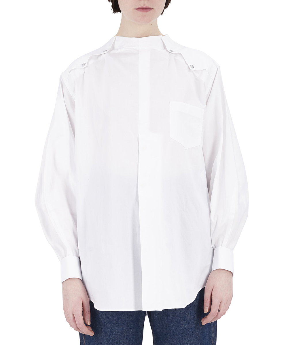 COTTON STUDS SHIRT