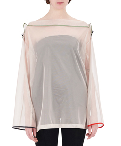 ORGANDY PULLOVER SHIRT