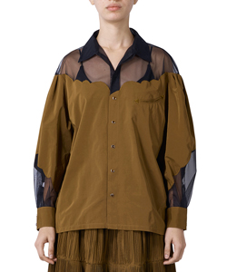 ORGANDY WESTERN SHIRT