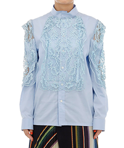 LACE MIX BLOUSE