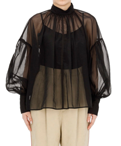 SHEER PUFF TOPS