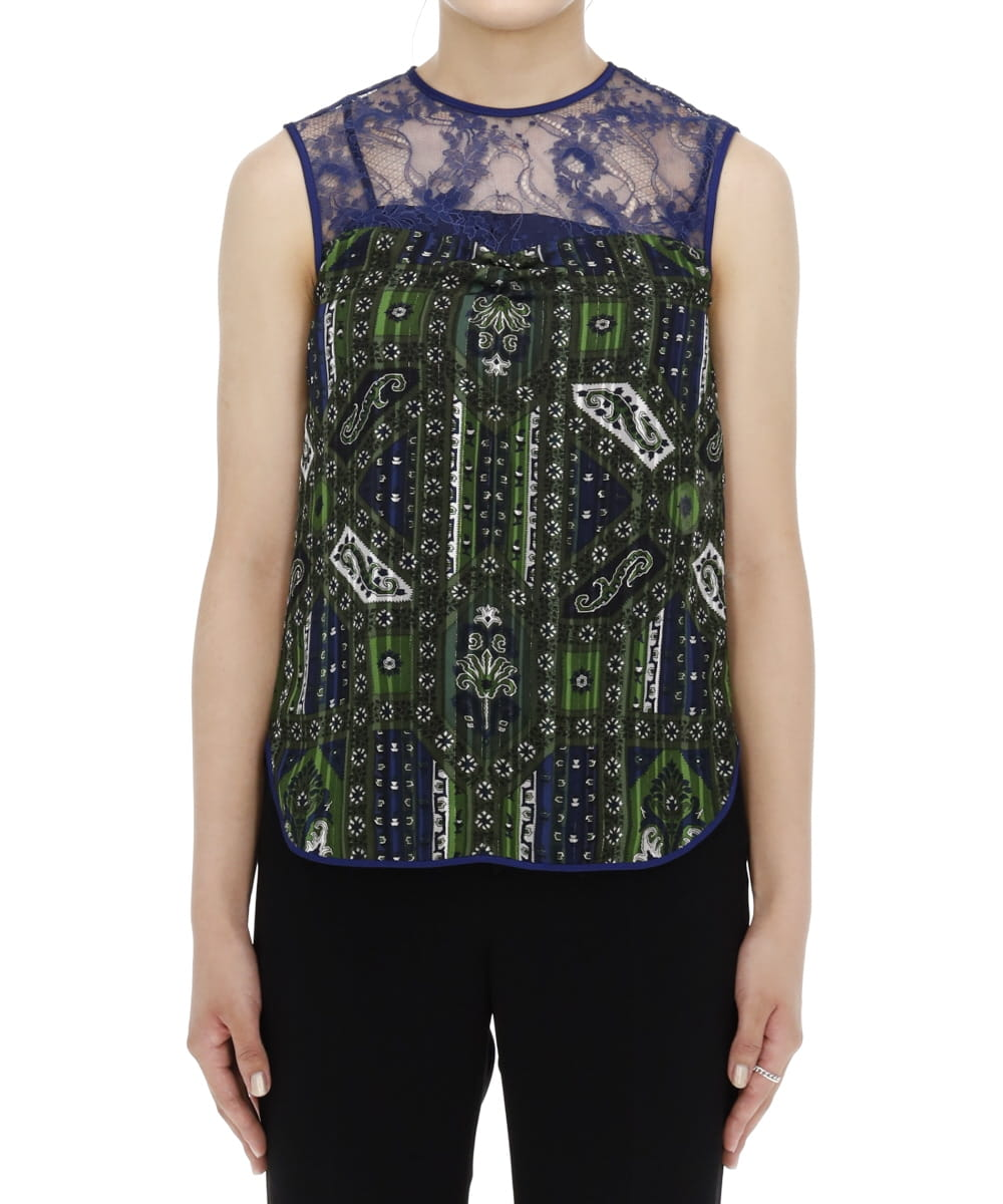 STAINED GLASS PRINTED TOP