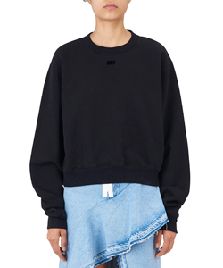 ARROW CROP CREWNECK SWEAT
