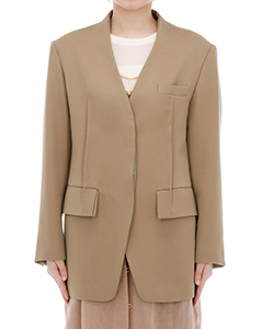 WOOL NOCOLOR JACKET