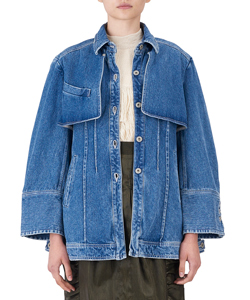 DENIM FLAP JACKET LBL