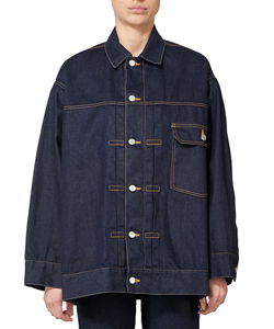 SELVAGE DENIM BIG BLOUSON