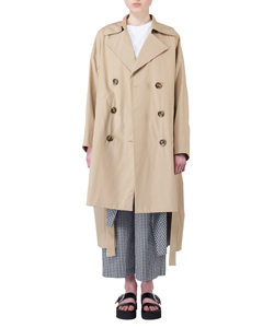 BOX SLIT TRENCH COAT