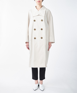 2WAY COLLAR TRENCH COAT