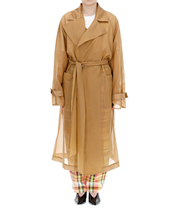 SHEER REVERSIBLE COAT