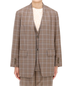 SUPER 140S WOOL TROPICAL JACKET