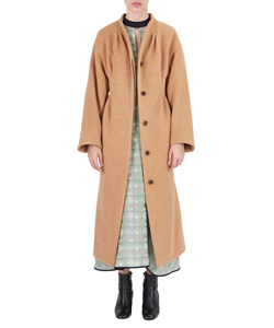 WOOL SHAGGY LONG COAT