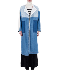 SAKIORI DENIM COAT