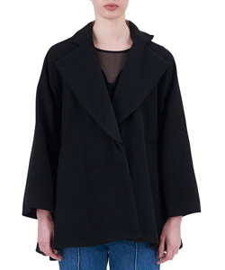 BIAS CAPE COAT