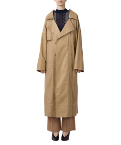 COTTON HEMP COAT