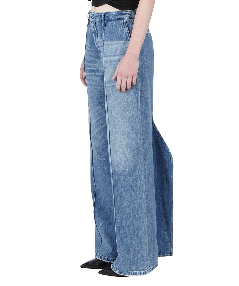 DENIM FIN PANTS