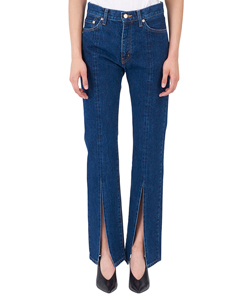SLIT DENIM PANTS