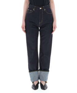 SELVAGE DENIM 5POCKET WOMAN FITS