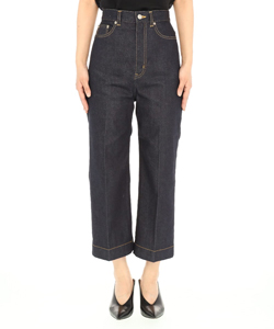 SELVAGE DENIM 5POCKET WIDE PANTS
