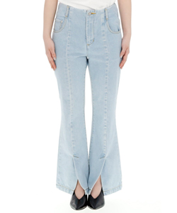CENTER SLIT DENIM