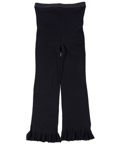 WOOL FINE RIBBED PANTS