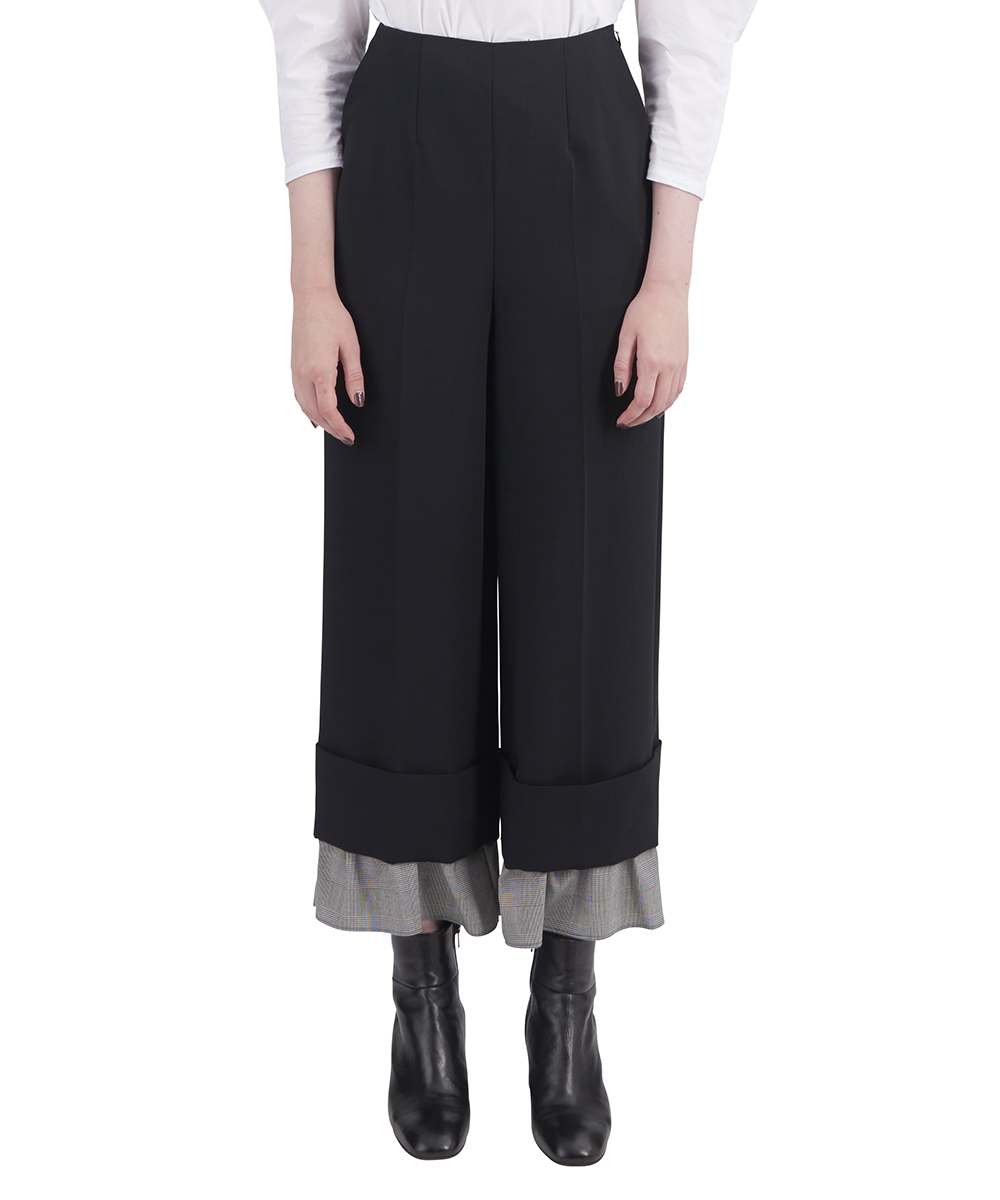 LAYERED TROUSERS