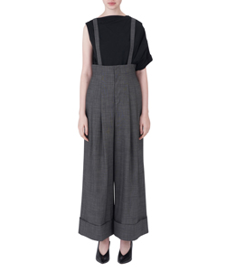SUSPENDERS LOOSE TROUSERS