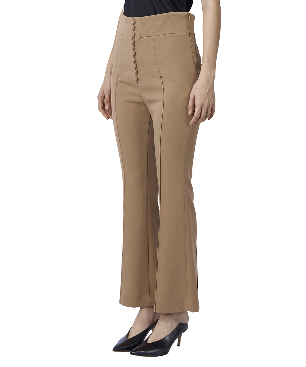 HIGH-WAISTED FLARE PANTS