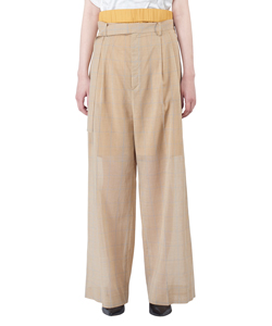 DOUBLE WEST SHEER PANTS