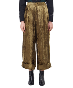 SHAGGY VELVET PANTS