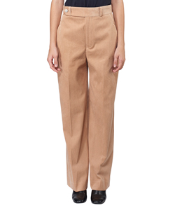 CORDUROY HIGH WAIST PANTS