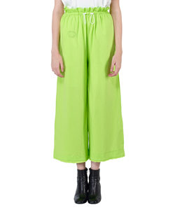 COTTON JERSEY WIDE PANTS