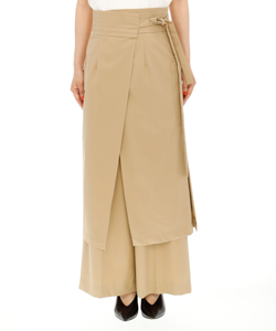APRON LAYERED TROUSER