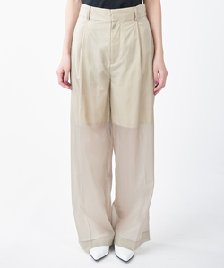 SHEER WIDE PANTS