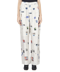 MOON SHOT INKJET PRINT PANTS