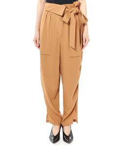 WORKPANTS WITH RIBBON BELT