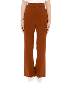 HIGH WAISTED CENTER CREASED PANTS