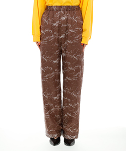 WAVE INKJET PRINT PANTS