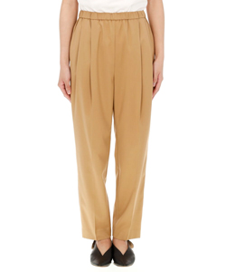 FINE GABA STRETCH PANTS