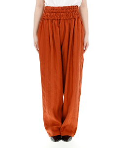 BLANCHE GATHERED WAIST PANTS OR