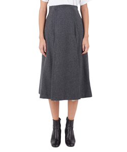 WOOL CASHMERE SKIRT