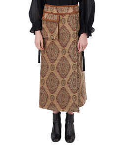 BODEVAN WRAP SKIRT