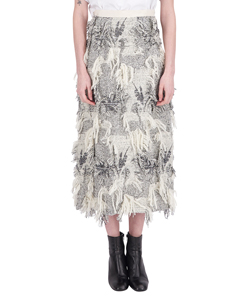 FUR LILY JAQUARD SKIRT