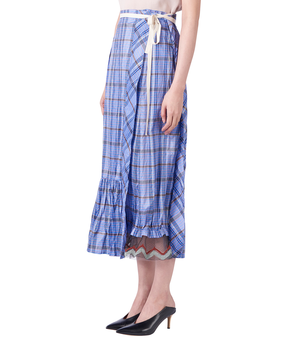 CHECK JQ LONG SKIRT