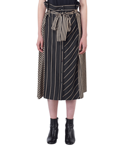 TWO PATTERN COMBINATED SKIRT