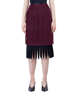 NOISE PLEATED SKIRT