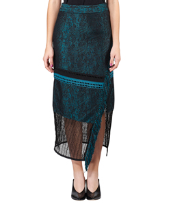 WATER JACQUARD TIGHT SKIRT