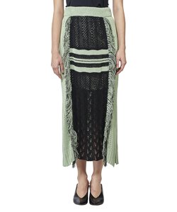 MIDWEST EXCLUSIVE LONG KNIT SKIRT