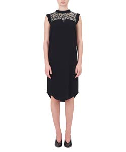 PEDICEL LACE I-LINE DRESS