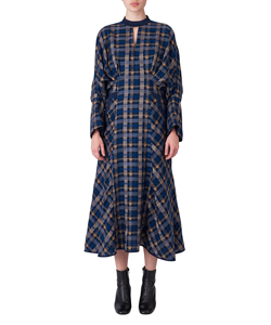 KASURI PLAID DRESS