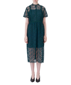 LACE ILINE DRESS